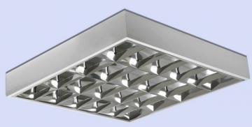 Šviestuvas lium. Sling 4x18 EVG/IP20 v/t Lampas liuminisencinių lampas