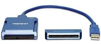 TRENDNET CONVERTER USB 2.0 -> SATA/IDE USB kabeliai kompiuteriams