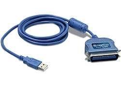 TRENDNET CONVERTER USB -> PARALLEL 1284 USB kabeliai kompiuteriams