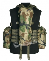 Taktinė liemenė woodland Mil-Tec Tactical shirts, vests