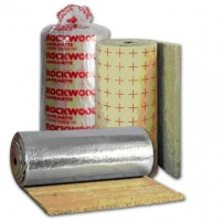 Technical Insulation Lamella Mat (mat with aluminium foil) 100x1000x2500 Technical insulation rock wool