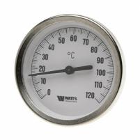 Termometras apvalus 120*C ant vamzdžio WATTS