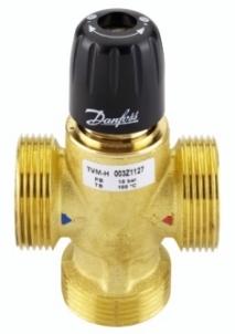 Termostatinis pamaišymo vožtuvas d25 TVM-H Šildymo sistemų valdymas