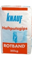 Rotband bonding gypsum plaster 30kg (Germany) Simple plaster blends