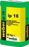 Gypsum plaster Weber Maxit IP 18 (25 kg) Simple plaster blends