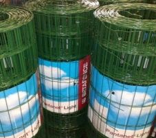 Welded mesh PANTANET LIGHT 101,6x76,2 H-1.52m (25m) Fences nets welded Plasticised