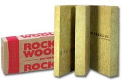Tinkuojamų fasadų izoliacija Fasrock 50x600x1000 Fasāžu siltumizolācijas akmens vates tinkuojamų