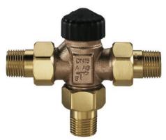 Trieigis maišymo vožtuvas d25 bronzinis Heating systems management