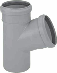 Trišakis Magnaplast d 110, 87° Domestic wastewater tees