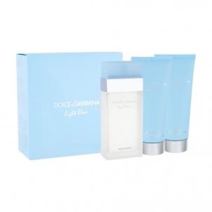 Tualetes ūdens Dolce & Gabbana Light Blue EDT 100ml (komplekts)