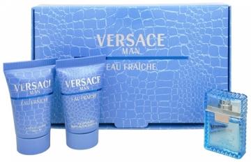 Tualetinis vanduo Versace Man Eau Fraiche EDT 5ml (rinkinys) Kvepalų ir kosmetikos rinkiniai