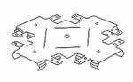 Tvirtinimo elementas CDP (jungtis 1 lygyje)