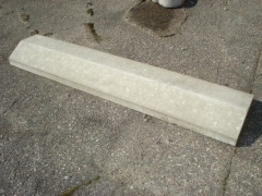 Coping 260x1000 mm. Concrete fences