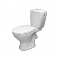 Toilet CERSANIT SENATOR 010 3/6l with cover Lavatory closets