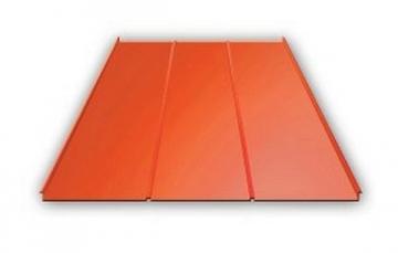Valcuoto profilio skarda Classic 0,5 mm (cinkuota) Profils trapecinio skārda loksnes