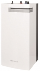Vandens šildytuvas NIBE-BIAWAR QUATTRO W-E100.74 100L vertikalus, be teno, pastatomas Kombinuoti vandens šildytuvai