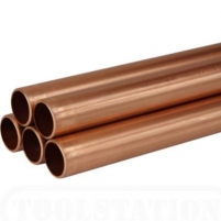 Copper tube D 16x1,5 Copper