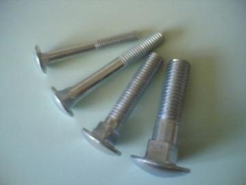 Bolts DIN 603 M 6 x 40 Zn 5A Bolts din 603, galvanized (increase. pusapv. puzzle., square pakakliu)