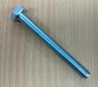Varžtas DIN933 8,8kl. 10x75-Zn