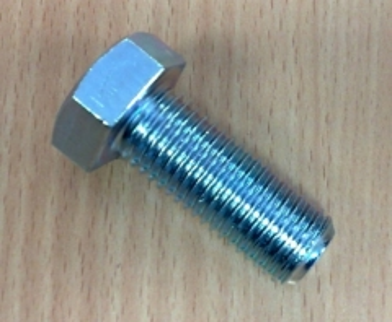 Varžtas DIN933 8,8kl. 16x30-Zn 50vnt
