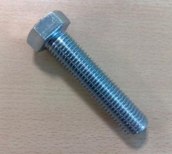 Varžtas DIN933 8,8kl. 20x80-Zn