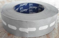 Ventiliacinė juosta polikarbonatui 25 mm. Komplektavimo detalės PVC lakštams