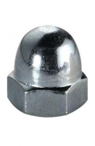 Veržlė DIN1587 M12 (gaubtinė) cink. Nuts din 1587, galvanized (colon)