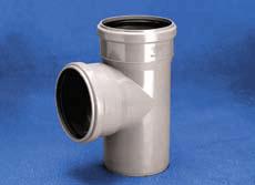 Vidaus kanalizacijos trišakis WAVIN OPTIMA, d 50-50, 88*