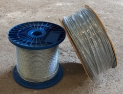 Vielinis lynas d-5.0 mm cink. The wire ropes, galvanised