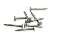 Vinys 3x40 cin.pad.galv. A large head nails, galvanized