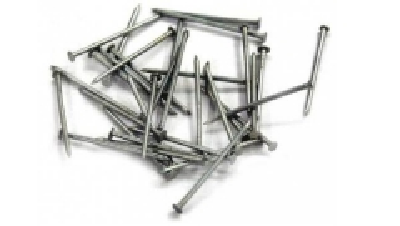 Vinys statybinės 1.8x50 valytos Construction nails, black