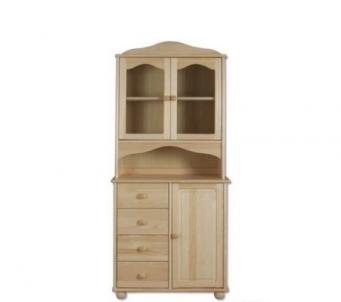 Vitrina KW104 Wooden display case