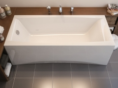 Vonia CERSANIT VIRGO 170x75 + kojos In the bathroom