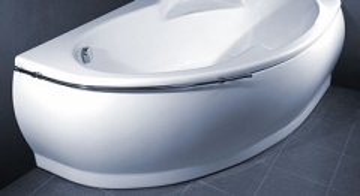 Vonios VISPOOL MAREA apdaila 170 dešinės pusės balta