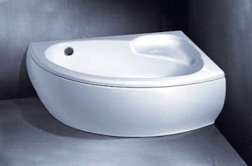 Vonios VISPOOL PICCOLA apdaila 150 kairės pusės balta