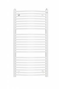 Vonios radiatorius Omega R 60/160, baltas Dvieļu turētāji ar apkures sistēmu savienojumus žāvētavas