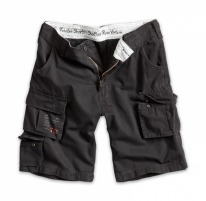 Vyriški šortai - Surplus Trooper shorts washed Black