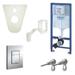 WC rėmas GROHE RAPID SL 5in1 Potinkinės systems