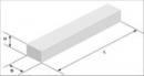 YTONG bearing lintel ' YN ' 129x25x24 cm. The porous concrete lintels