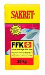 Ypač elastingi plytelių klijai FFK (25 kg) Flīžu līme