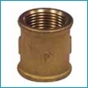 Žalvarinė mova, d 1/2'', vidus-vidus Žalvarinės uncoated couplings