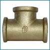 Žalvarinis trišakis, d 1/2'', vidus-vidus Brass plated tees