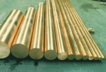 Brass round bar D80