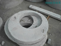 Manhole cover KCP1-10-2 Wells concrete rings and bases