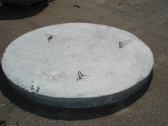 Manhole bottom KCD-10 Wells concrete rings and bases