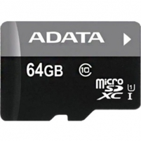 A-DATA 64GB Premier microSDHC UHS-I U1 Card (Class10) Retail