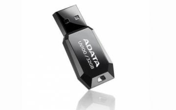 A-DATA DashDrive UV100 32GB Black USB Flash Drive, Retail