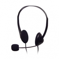 A4Tech headphones HS-6, microphone, frequency - 20-20000Hz, impediance - 32 Ohm, sencivity - 97 db, cord - 2m Ausinės ir mikrofonai