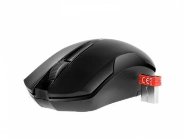 A4Tech mouse G3-200N V-Track Wireless USB (Black) Kompiuterinės pelės
