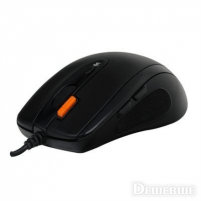 A4Tech mouse N-70FX V-Track Padless USB (Black) Mouse